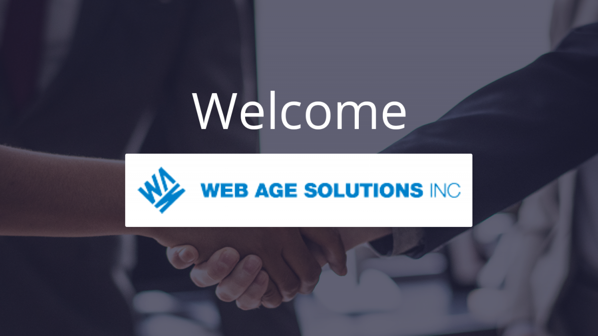Welcome Web Age Solutions INC
