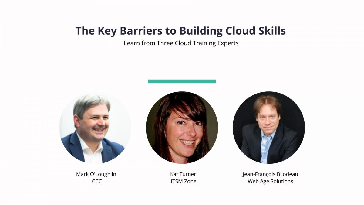 Key barriers to building cloud skills