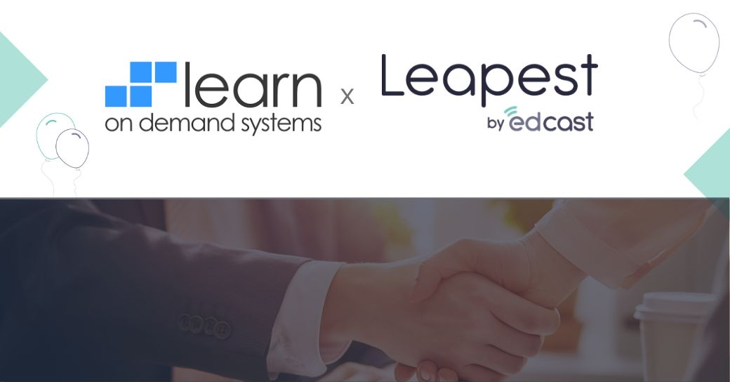 Content Partnership Announcement LearnOnDemand Systems and EdCast Marketpalce