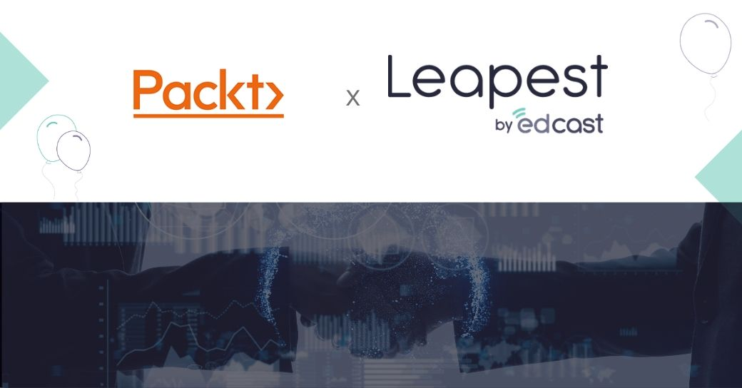 Packt partners with EdCast Marketplace Leapest